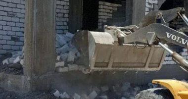 صور..تنفيذ 21 إزالة بناء مخالف وتعدى على أراضى دولة بالإسكندرية خلال العيد