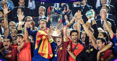 زى النهارده.. برشلونة يتوج بالثلاثية التاريخية فى موسم جوارديولا الأول