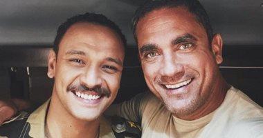 أحمد خالد صالح لأمير كرارة: مهما اتكلمت عن محبتك فى قلبي مش هوفيك حقك
