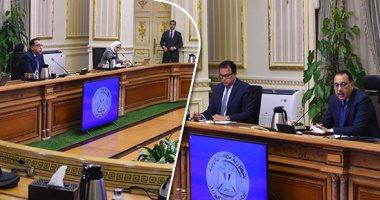 اجتماع رئيس الوزراء مع المجموعه الطبيه المعنيه لبمجابهة فيروس كورونا