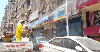 محافظة الجيزة: تعقيم وتطهير 3000 شارع ومنطقة وواجه منزل ومحل