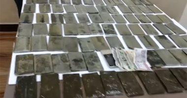 مكافحة المخدرات تضبط 27 كيلو هيروين و29 ألف قرص مخدر