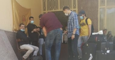 انتهاء فترة حجر أول فوج للعائدين من الخارج بالمدينة الجامعية بحلوان.. صور