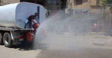 محافظ الجيزة: تطهير 25 قرية و2000 شارع ومنشأة ومرفق ضد كورونا