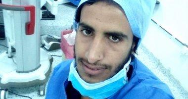 """الجيش الأبيض..""""محمد"""" تمريض بالمستشفى الجامعي بالاسماعيلية في مواجهة كورونا"""