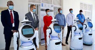 الأطقم الطبية فى رواندا تستعين بأجهزة روبوت لتقليل مخاطر الإصابة بكورونا