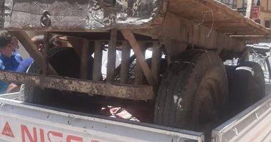 تحرير 20 مخالفة فى حملة مرافق لإزالة الإشغالات بحى شرق سوهاج