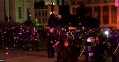 سى إن إن: فرض حظر التجول فى 25 مدينة أمريكية عقب الاحتجاجات ضد الشرطة