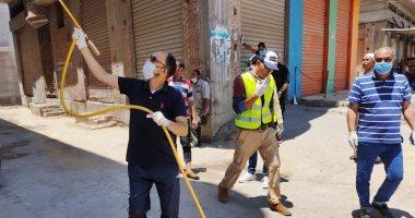 محافظ قنا: تطهير 2185 منشأة و235 شارعا و29 موقفا ضد كورونا