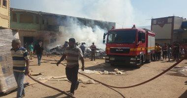 السيطرة على حريق في مزرعة دواجن بالدقهلية بعد نفوق 4500 دجاجة