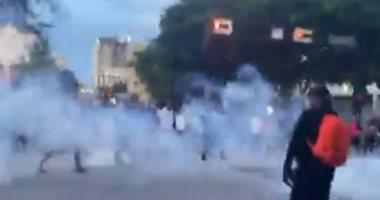 مواجهات بين الشرطة ومتظاهرين ونهب للمتاجر فى ميامى الأمريكية.. فيديو