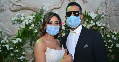 أجمل 20 صورة من ألبوم حفل زفاف شقيقة محمد رمضان