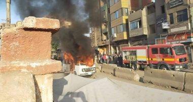 النيابة تنتدب المعمل الجنائى لمعاين حريق شب فى شقة بمدينة نصر