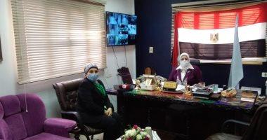 تعليم كفر الشيخ: المقابلة الخاصة للمقبولين برياض الأطفال عن طريق الفيديو