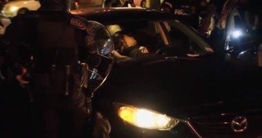 بعد مقتل فلويد.. الشرطة الأمريكية تسحل مواطنا ذا أصول أفريقية.. فيديو