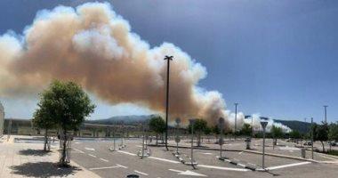 """السيطرة على حريق مغلق أخشاب بطريق """"بلبيس- العاشر"""""""