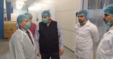 صور.. مكتب التمثيل العمالى بالكويت يتابع أحوال العمالة المصرية بالمصانع