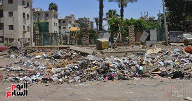 صور.. القمامة ومخلفات الهدم تحاصر شجرة مريم إحدى محطات العائلة المقدسة