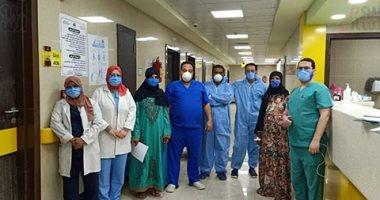 مستشفى إسنا للعزل الصحى تعلن خروج 7 حالات عقب شفائهم من كورونا