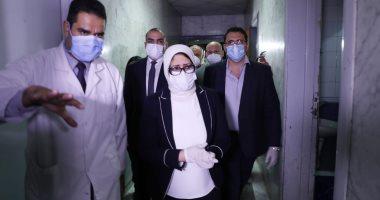 وزيرة الصحة: توفير 35 ألف سرير بالمستشفيات لاستقبال الحالات المصابة بكورونا