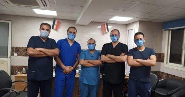 خروج 4 حالات بعد شفائهم من كورونا بمستشفى قها وارتفاع أعداد المتعافين لـ248