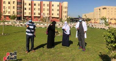 مستشفى عزل المدينة الجامعية ببنى سويف