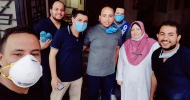 جيشنا الأبيض.. أبطال التمريض بعزل مستشفى جامعة الزقازيق على خط مواجهة كورونا