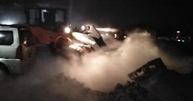 رفع 60 طن مخلفات وقمامة بشارع أحمد عرابي وتفرعاته في مدينة الأقصر