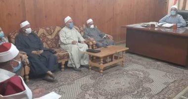 أوقاف المنيا : أستمرار أعمال تطهير وتعقيم المساجد استعدادا لأى تعليمات جديدة