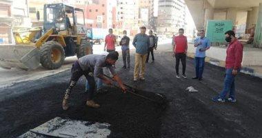 """""""سيبها علينا"""".. قارئ يناشد المسئولين رصف طريق شارع المسجد الأقصى بالطالبية"""