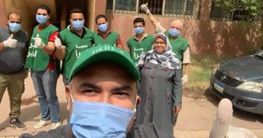 """""""شبرا الخير"""" تطلق حملة """"إحنا معاك"""" لمساعدة مصابي فيروس كورونا بشبرا الخيمة"""