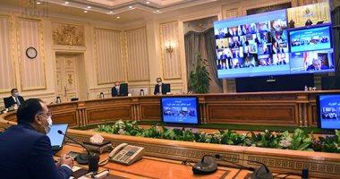 الحكومة تناقش فتح المساجد والنشاط الرياضى والطيران عبر الفيديو كونفرانس