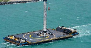 صاروخ فالكون 9 يعود إلى ميناء فلوريدا بعد إطلاق ناسا التاريخى -