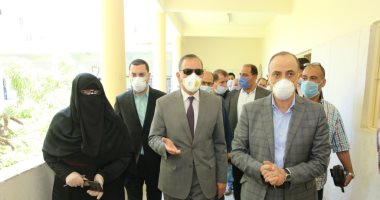 صور.. محافظ كفر الشيخ يتابع مستوى الرعاية للمواطنين بعدد من المنشآت الصحية