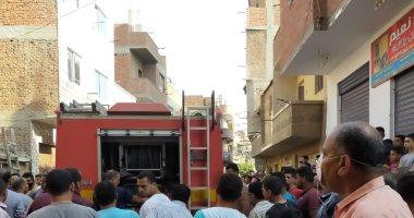 السيطرة على حريق بسبب انفجار أنبوبة بشقة فى قليوب دون خسائر.. صور