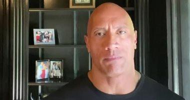 """""""الصخرة"""" يواجه رسالة قوية ضد العنصرية لترامب بعد مقتل جورج فلويد.. فيديو"""