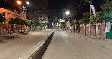 صور.. محافظ كفر الشيخ يتابع التزام المواطنين بقرار الحظر وغلق المحال