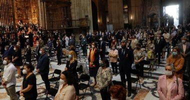 قداس جنائزى فى إسبانيا لتكريم أرواح ضحايا كورونا