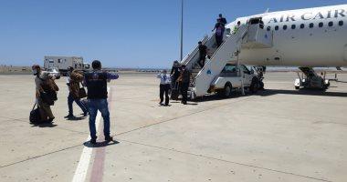 245 عائدا مصريا بالأمارات يغادرون اليوم الحجر الصحى بأحد فنادق مرسى علم
