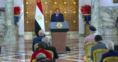 الرئيس السيسى: حفتر و صالح برهنا على رغبتهما فى إنفاذ إرادة الشعب الليبى