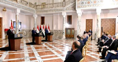 السيسى: مصر لم ولن تقوم بأى اتصال أو تنسيق مع أى طرف على حساب المصلحة الليبية