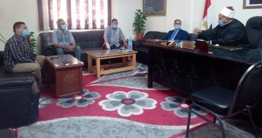 رئيس منطقة البحر الأحمر الأزهرية يبحث آخر الاستعدادات لامتحانات الشهادة الثانوية اليوم السابع