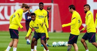 برشلونة يجري اختبار كورونا الأخير قبل استقبال نابولي فى دوري الأبطال