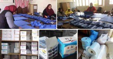 """""""الإحصاء"""" يكشف زيادة استهلاك المصريين للكمامة والقفازات بـ72% حتى سبتمبر"""