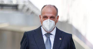 صورة رئيس رابطة الليجا يتهم قادة دوري السوبر الأوروبي بالجهل