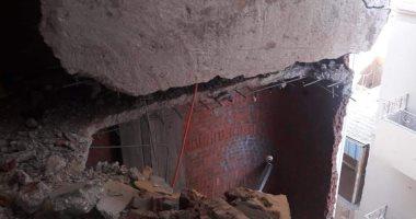 إزالة 7 طوابق بعقار مخالف بحى أول المحلة بمحافظة الغربية