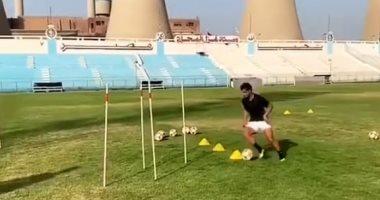 طارق حامد يوجه الشكر لغزل المحلة قبل العودة لتدريبات الزمالك