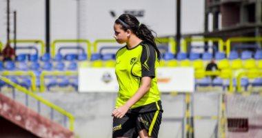 سهر حامد لاعبة الكرة النسائية بدجلة تتعافى من فيروس كورونا
