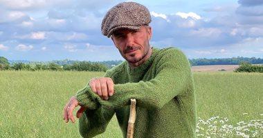 """ديفيد بيكهام يتحول لـ""""مزارع"""" في فترة العزل الصحي المنزلى بمزرعته على حدود لندن"""