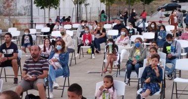 افتتاح السينما الصيفية فى إسبانيا مع الحفاظ على المسافات الآمنة (فيديو وصور)